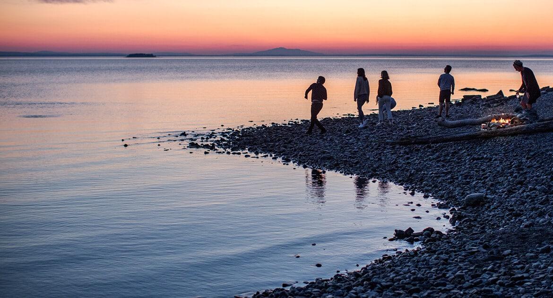 Strandhäng vid Andersön