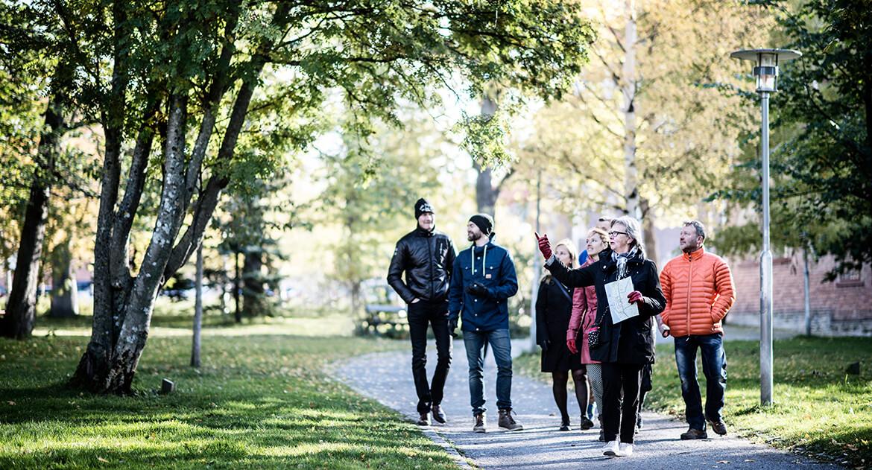 Stadsvandring Östersund