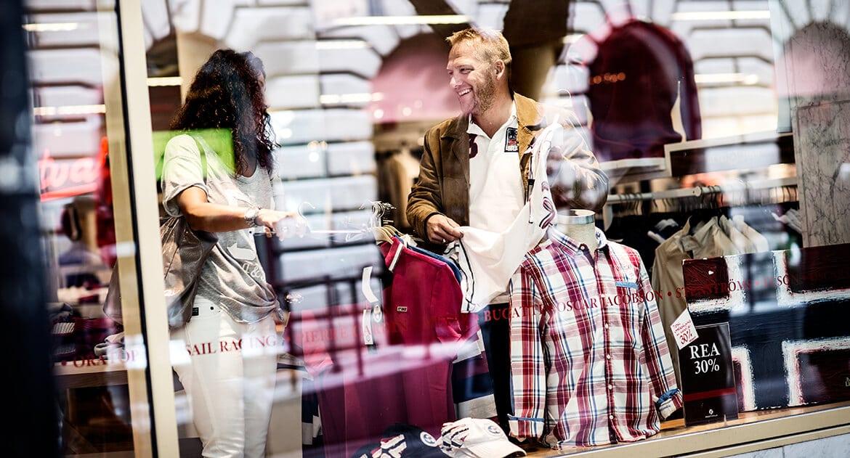 Shopping i Östersund