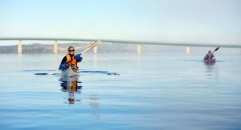 Kanot Storsjön