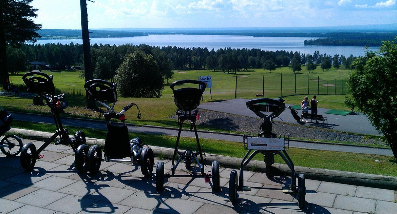 Utsikt Frösö golfklubb