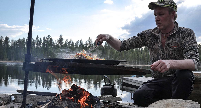 viltmarksmiddag i Jämtland