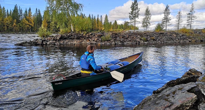 paddla kanot östersund
