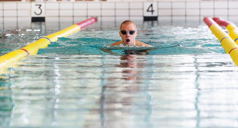 Simning Östersund