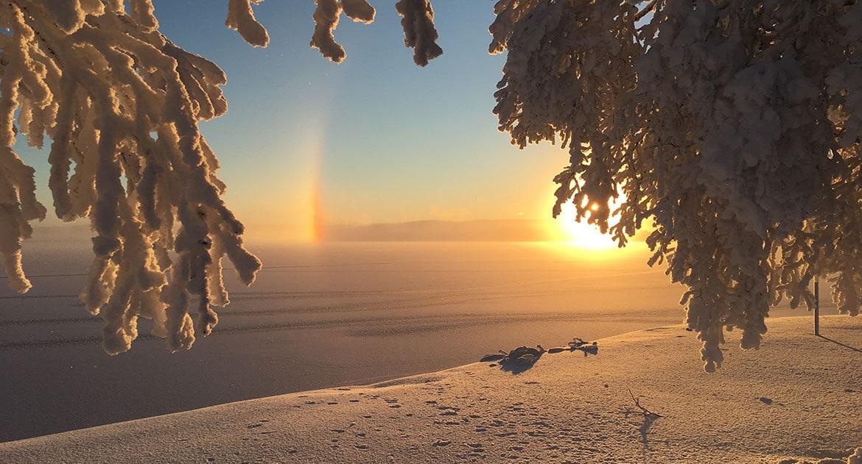 Vinter Östersund