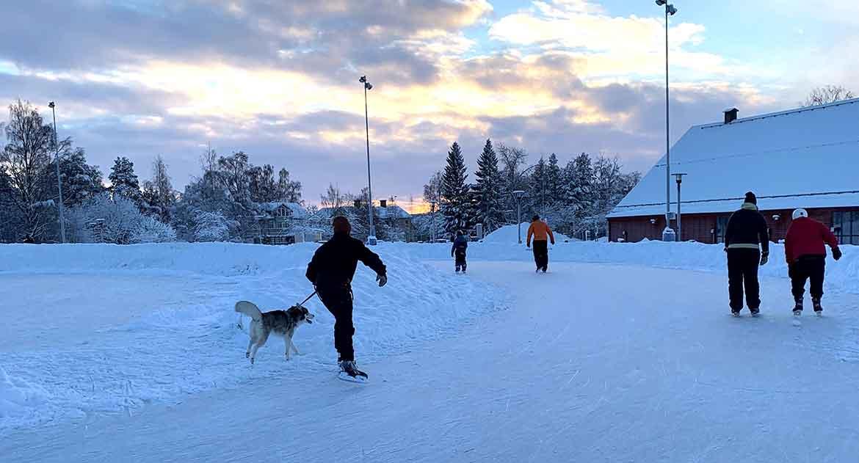 Skridskor Östersund
