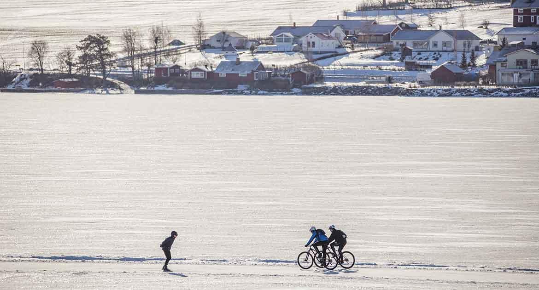 vintercykling Östersund