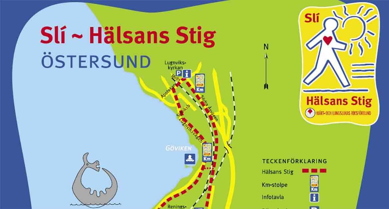 Vandra Östersund