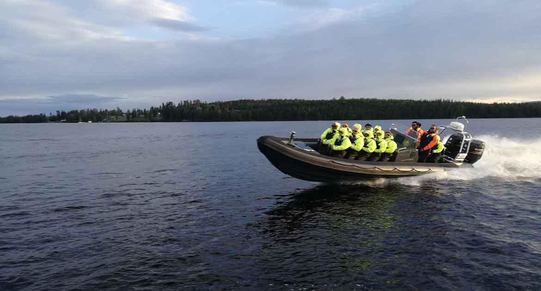 Båt storsjön