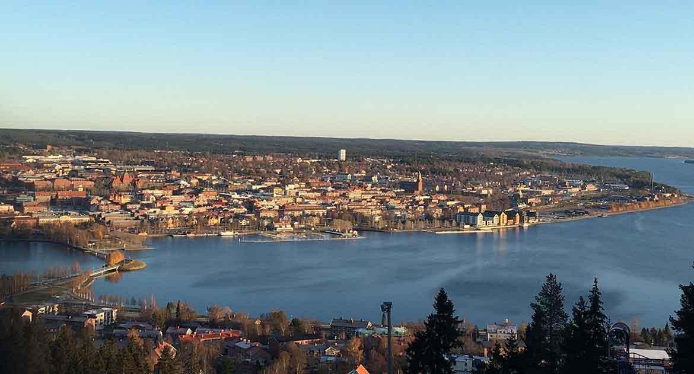 Vandra i Östersund