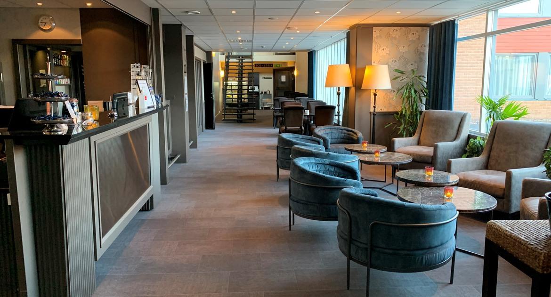 Hotell Ett reception